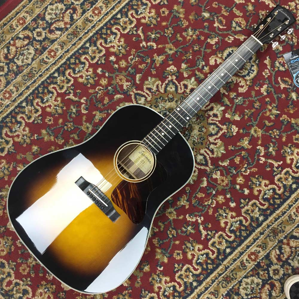 Eastman E10SS, Solid Andirondack Spruce Top, Solid Mahogany Back and Sides, Nitro Finish