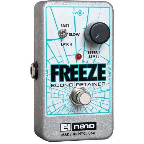 Electro Harmonix Freeze Sound Retainer Guitar Effects Pedal EHX
