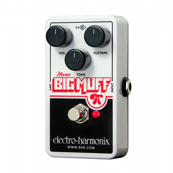Electro-Harmonix EHX Big Muff Pi Distortion Sustain Fuzz Guitar Effects Pedal