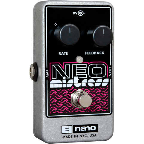 Electro Harmonix Neo Mistress Flanger Guitar Effects Pedal EHX