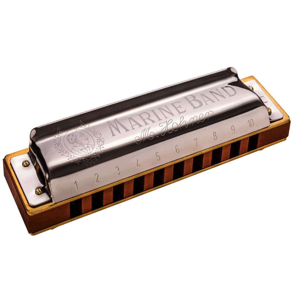 Hohner Marine Band 1896: Key of E