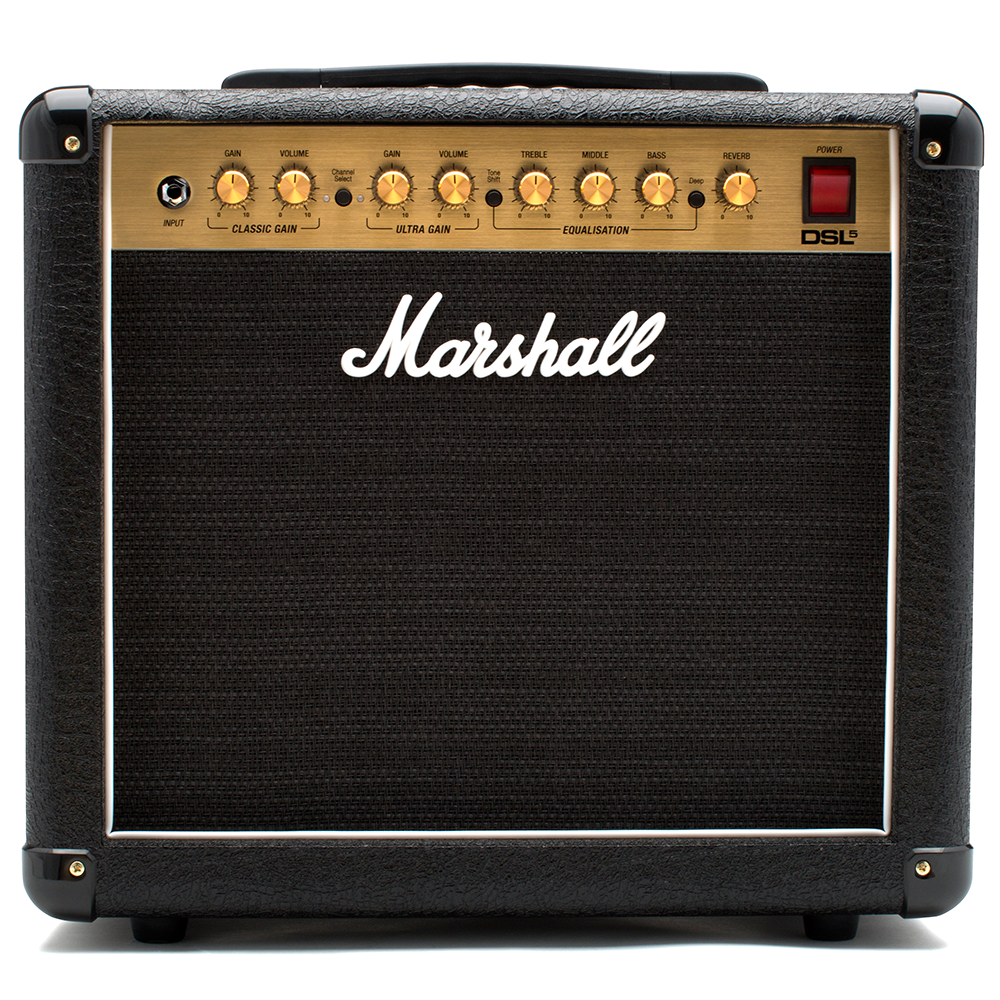 Marshall DSL5CR 5W Valve 1x10 Combo with Reverb