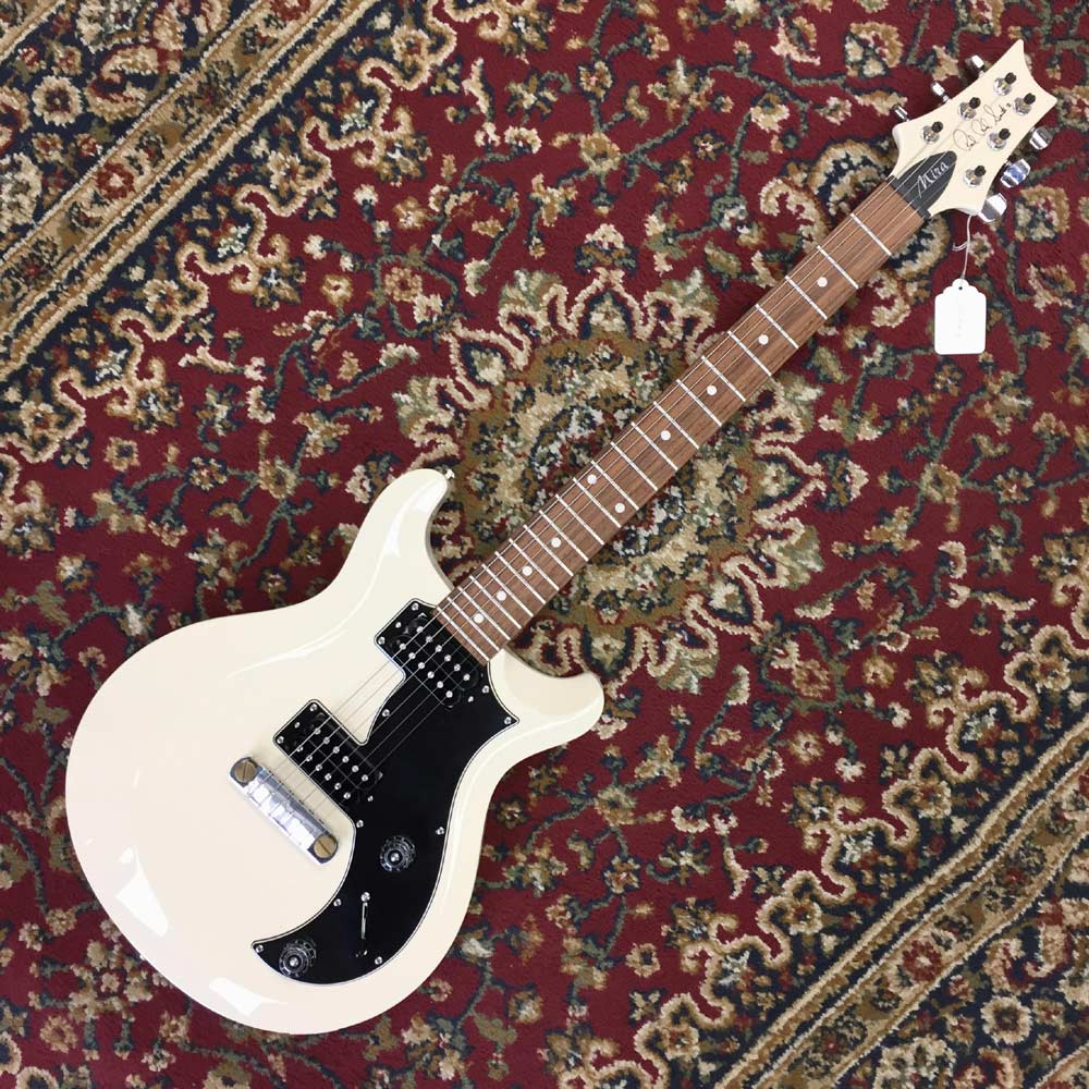 Prs S2 Mira In Antique White With Dot