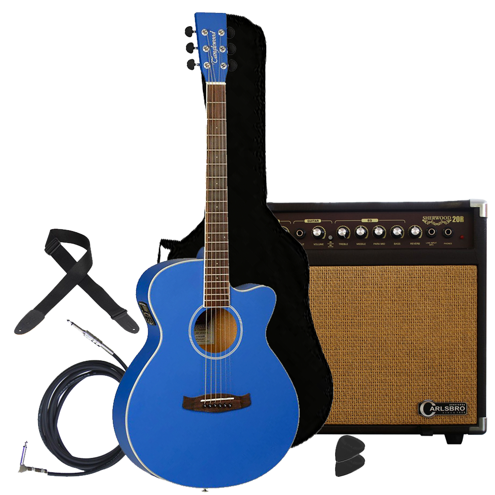 Tanglewood Electro Acoustic Guitar / Amp Package inc Accessories