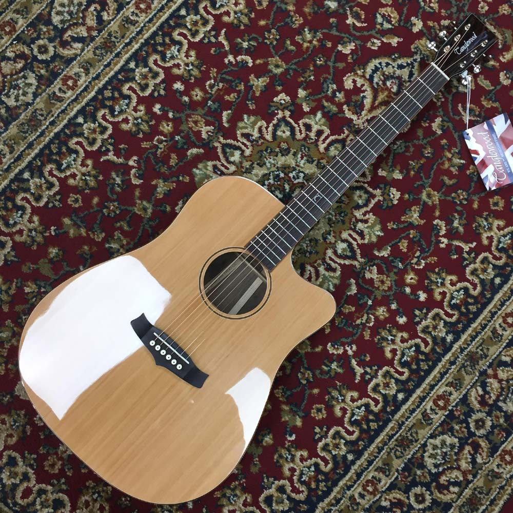 Tanglewood TWJD CE, Solid Spruce Top, Amara/Spaled Maple Back and Sides