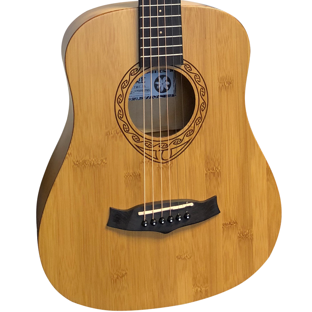 Tanglewood twt 18 tiare travel size bamboo acoustic guitar for The tanglewood